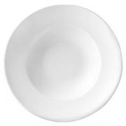 Тарелка для пасты «Монако вайт» d=30см фарф