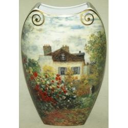 Ваза «Дом художника» 30 см. Серия: Monet