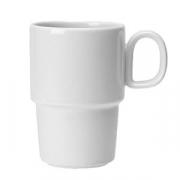 Кружка «Лиф»; фарфор; 455мл; белый