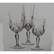 Набор 18 предметов «Опера» (бокалы для вина160мл,вина230мл,шампанского130мл)
