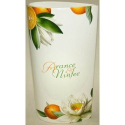 Ваза для цветов «Апельсины и кувшинки» 40.5 см