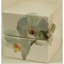 Банка для сыпучих продуктов 10см «Орхидея»