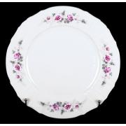 Блюдо круглое 30 см «Роза серая платина 5396021»