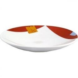 Тарелка «Зен» 25.5см фарфор