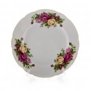 Набор тарелок 6шт.25см «Роза 8105100»
