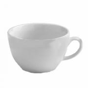 Чашка чайная «Алберго», фарфор, 320мл, D=110,H=135,B=65мм, белый