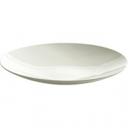 Блюдо глубокое «Ленс» D=27, H=3.7см; белый