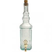 Банка-емкость с краном с пробкой «Бутылка»