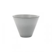 Салатник «Экинокс» D=10.5, H=8см; серый