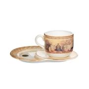 Чашка на маленьком подносе «Натюрморт» 0,5 л