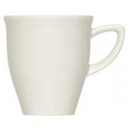 Чашка кофейная «Рафинез»; фарфор; 90мл; слон.кость