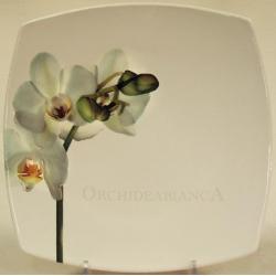 Обеденная тарелка «Орхидея» 27 см