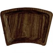 Тарелка «Дуга» темный дуб