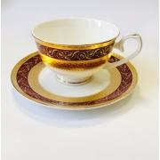 Набор чашек на 6 персон «Королевский рубин»