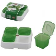 Набор контейнеров 5 пр для заморозки зелени