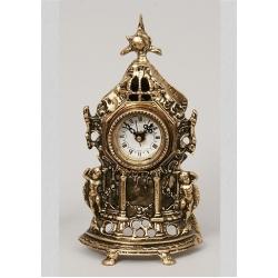 Часы с амурчиками 23х12см.