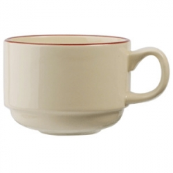Чашка коф «Кларет» 100мл фарфор