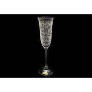 Бокал для шампанского Флора, Белое кружево