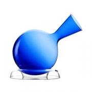 Декантер «Вулканос», хр.стекло, 750мл, D=17.5,H=28.5см, синий