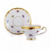 Набор чайный 210мл.на 6перс.12пред «Мейсенский цветок»