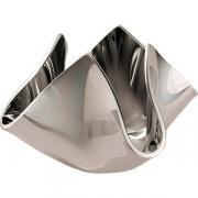 Подсвечник «Флауа» 10*10см серебрян.