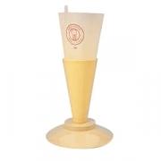 Держатель для кондит.мешков, пластик, D=20,H=25см, желт.