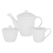 Набор: чайник, сахарница, молочник Движение в подарочной упаковке