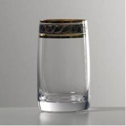 Набор стаканов 1/6 «Идеал» 250 мл; вода; панто платина