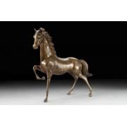 Лошадь большая цвет - каштан 47х51см