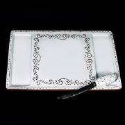 Доска для сыра 34х22,7см. с ножом «Романтик»