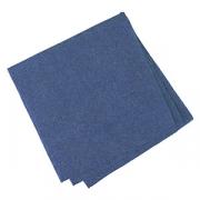 Салфетки «Папирус» 24*24см [400шт], бум. салфет., H=16,L=25,B=12.5см, синий
