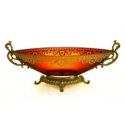 Декоративная ваза для фруктов 54х16х22 см «Неаполь»