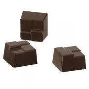 Форма для шоколада «Плетеный квадрат» [28шт]; поликарбонат