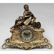 Часы «дама с книгой» комбин.33х37см