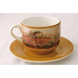 Чашка с блюдцем «Кьянти» 0,5 л