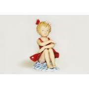 Статуэтка «Балерина» (в красном платье)