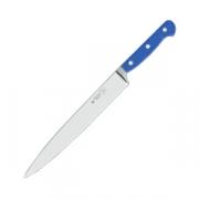 Нож для тонкой нарезки L=18см голуб. ручка