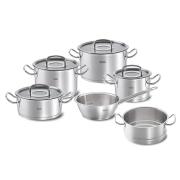 Набор посуды Fissler, серия Original pro collection, 5 пр. + пароварка (подарок)