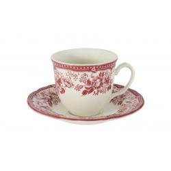 Чашка с блюдцем Диана