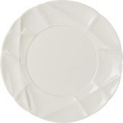 Тарелка мелкая «Саксэшен» D=21, H=2.2см; белый