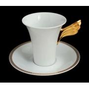Пара для кофе 2 пред. 180 мл. «Медальон Меандр»