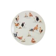 Тарелка обеденная Птичий двор
