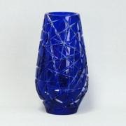 Ваза 25,5 см; «Taiga»; синяя