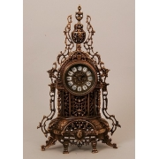 Часы каштан 48х29 см.