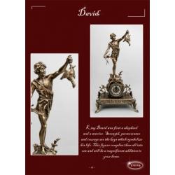 Часы «Давид» каштан 62х39 см.