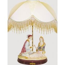 Лампа с абажуром «Ромео и Джульетта», 65см