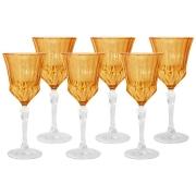 Набор: 6 бокалов для вина Адажио - янтарная