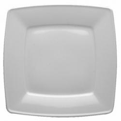 Тарелка квадр «Виктория» 26см фарфор