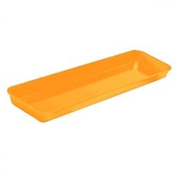 Поднос прямоуг.21.4*76.2*5.1см оранжевы