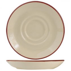 Блюдце «Кларет» d=11.75см фарфор